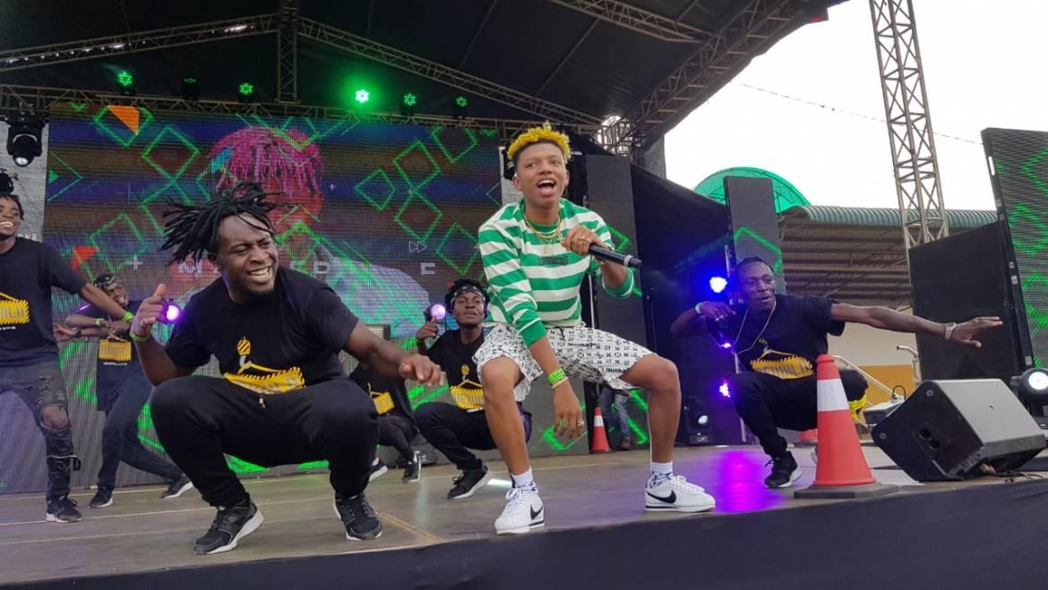 21,000 ROCK UP FOR GROOVE WINNERS TOUR IN EMBU